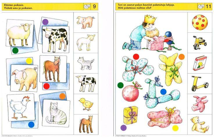 Visuele Discriminatie Voor Kleuters Preschool Visual