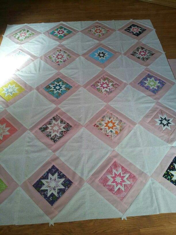 Christmas ornament star quilt | quilts | Pinterest | Star ...