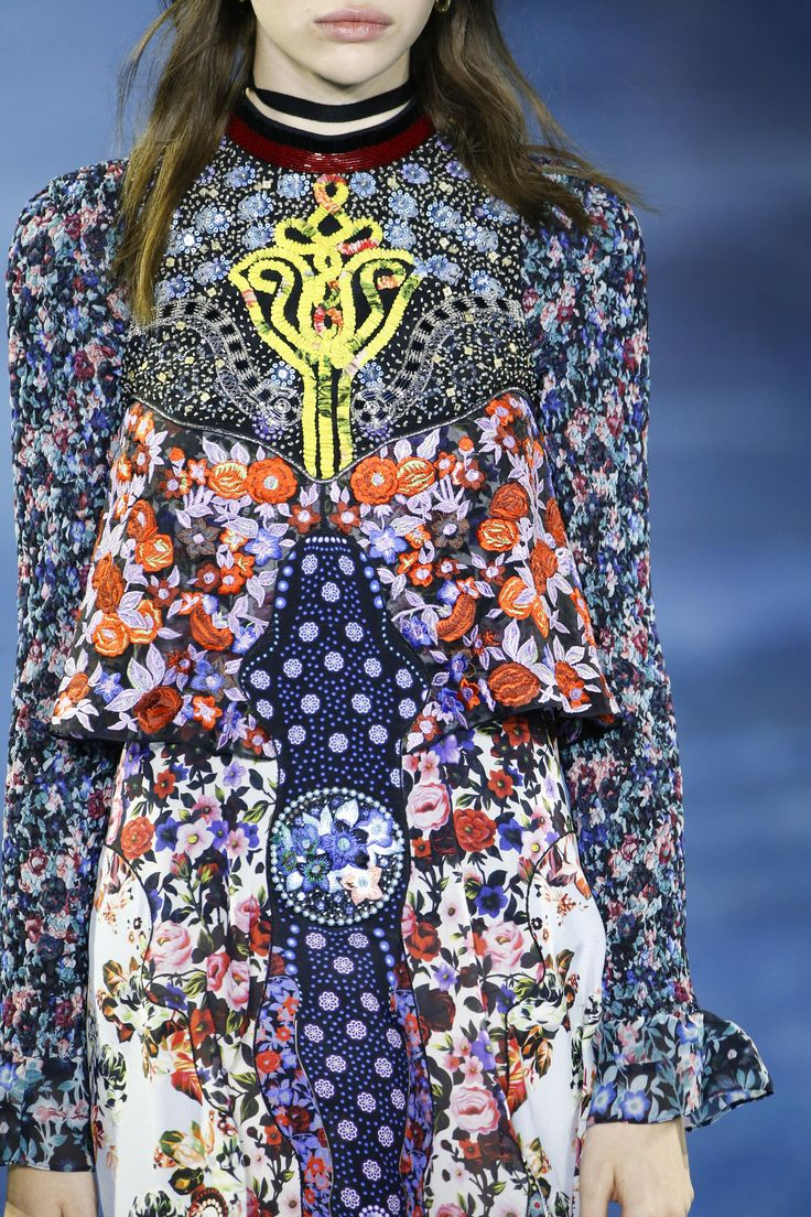 A detailed look at Mary Katrantzou Spring 2016