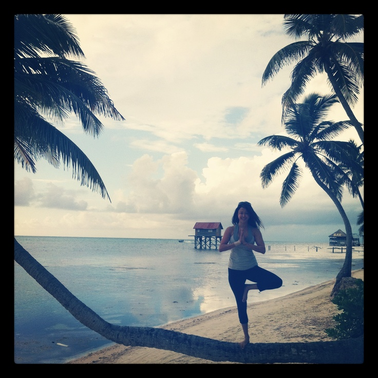 Namaste in Belize www.YummiYogini.com