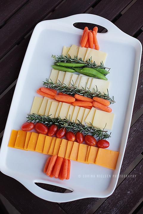 NY tree cheese plate