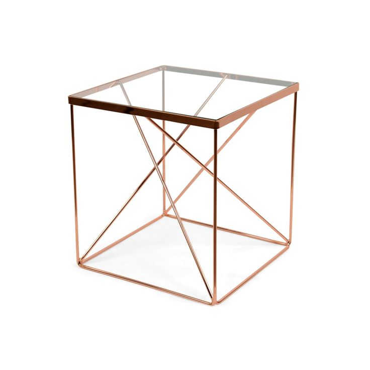 Tribeca Side Table Copper