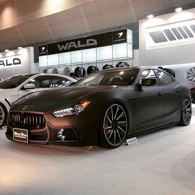 Matte'ed out Maserati