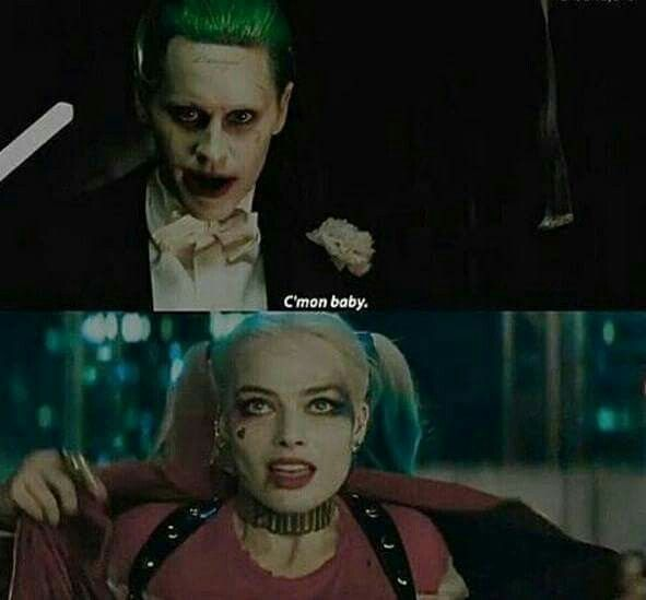 c'mon baby - joker and harley in suicide squad