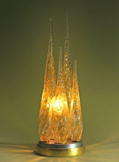 Spire lamp