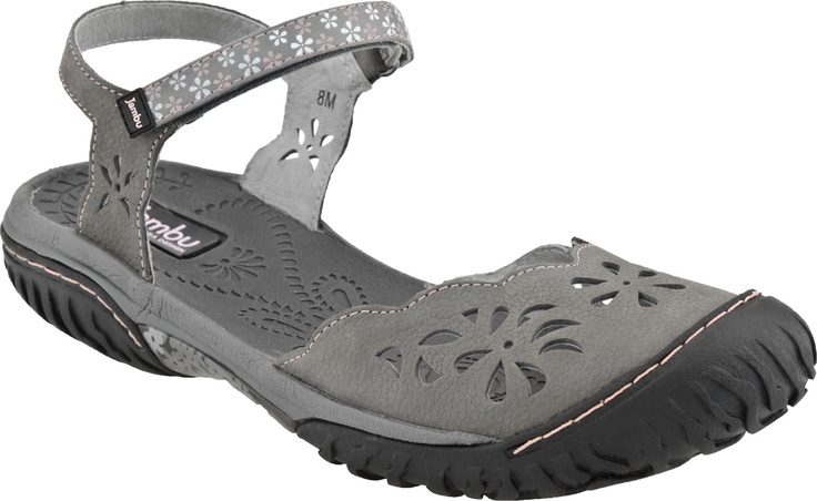 Jambu Ocean Women S Closed Toe Sandal New Charcoal