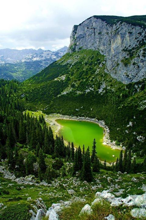 Jablan jezero, Durmitor National Park, Montenegroam