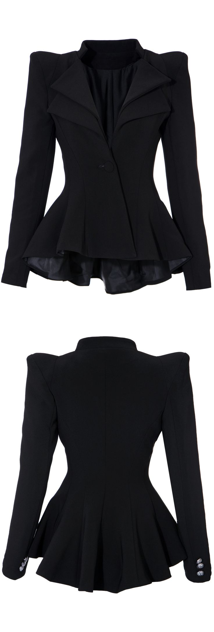 Ruffled Blazer since watching Penny Dreadful I'm into this kind of clothes