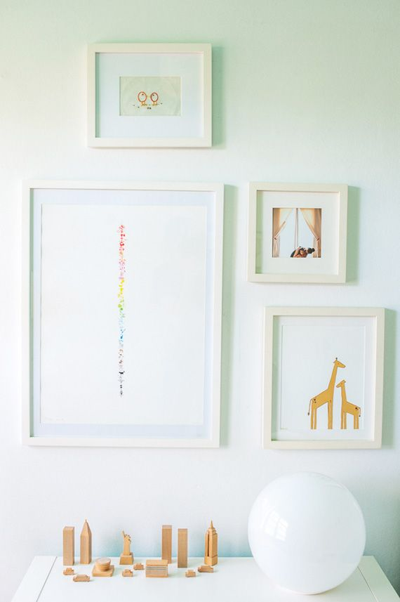 Warm, modern toddler girl's room from Mercie Ghimire Photography   100 Layer Cakelet