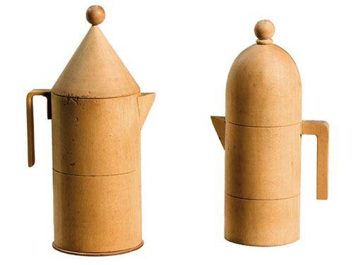 Aldo Rossi for Alessi Wood prototypes.