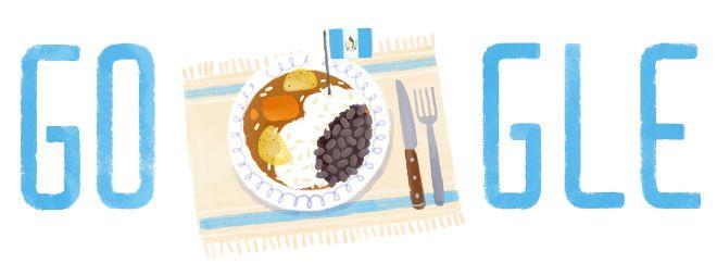 #Guatemala Independence Day 2014: Google Doodle