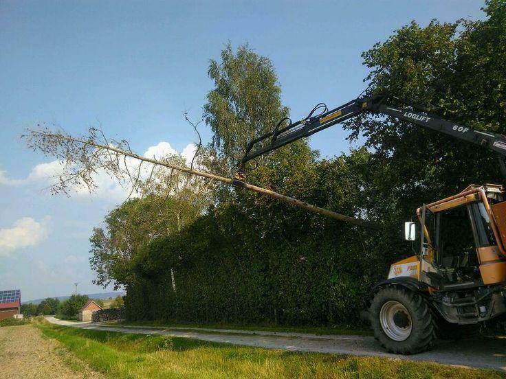 Forstschlepper jcb fastrac loglift in Bayern - Rothenburg