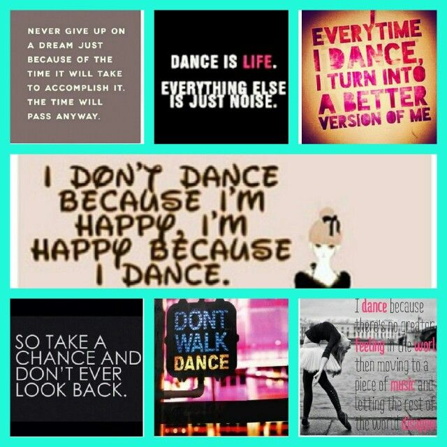 dance team quotes and sayings quotesgram