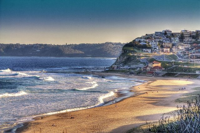 Merewether beach, Newcastle NSW