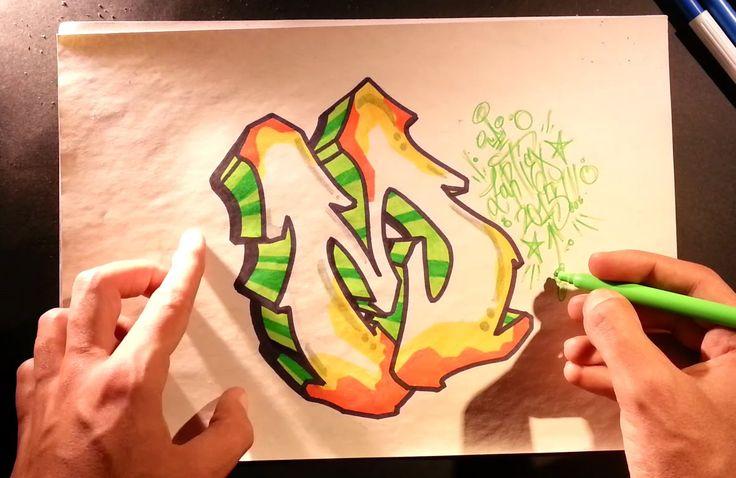Como hacer letras de graffitis 3D faciles - Letras de graffiti 3D [HD] Z: MY ART TOP VIDEOS:  A : https://www.youtube.com/watch?v=D8StzCc0xXo  S : https://www.youtube.com/watch?v=hTjrELWolAg  W : https://www.youtube.com/watch?v=DRnjQ6SSMZk  E : https://www.youtube.com/watch?v=xpxcjp71Xoo  M : https://www.youtube.com/watch?v=HUbQ_3QUibM  E 3D : https://www.youtube.com/watch?v=gXUBrZtgX6Q