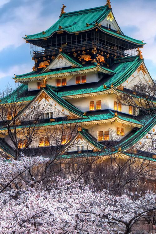 Pagoda, Japan by Tiep Nguyen ♥ ♥ www.paintingyouwithwords.com