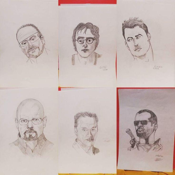 Artisti fatti a matita tempo libero