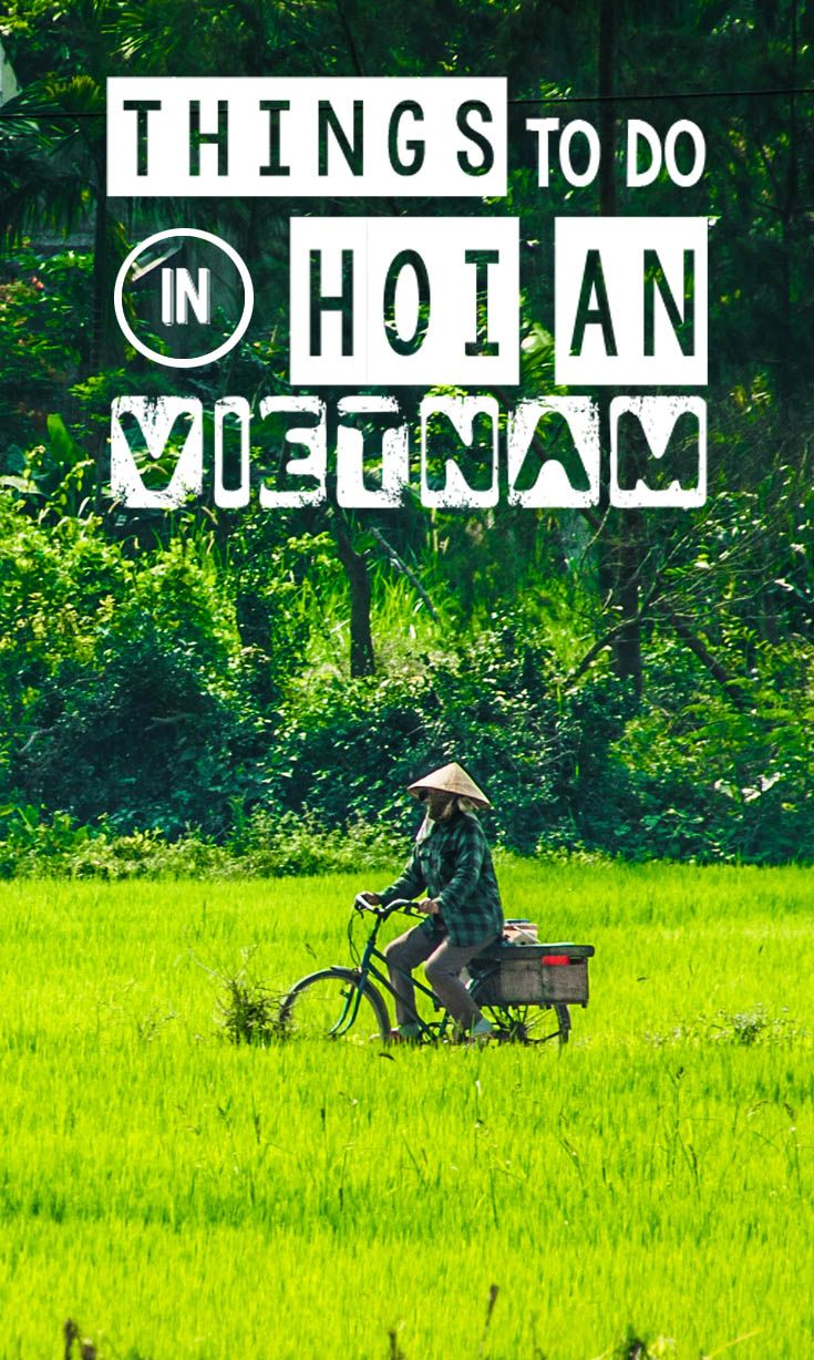 Things to do in Hoi An Vietnam - Pinterest Featured Image