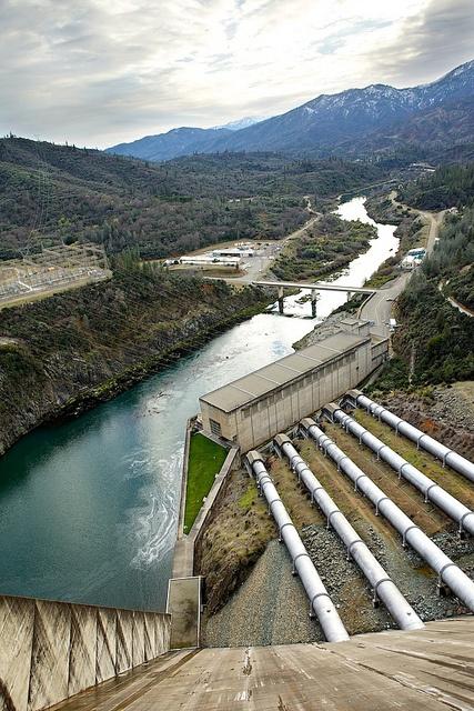 Shasta Dam built across the Sacramento River in Sacramento Valley, CA between 1938-1944.  Photo: Chris Law Photography