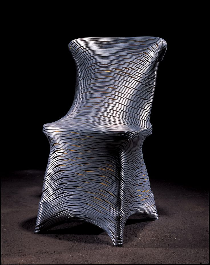 chair, 440x500x900,aluminum wire. fiberglass.lifecasting,2005