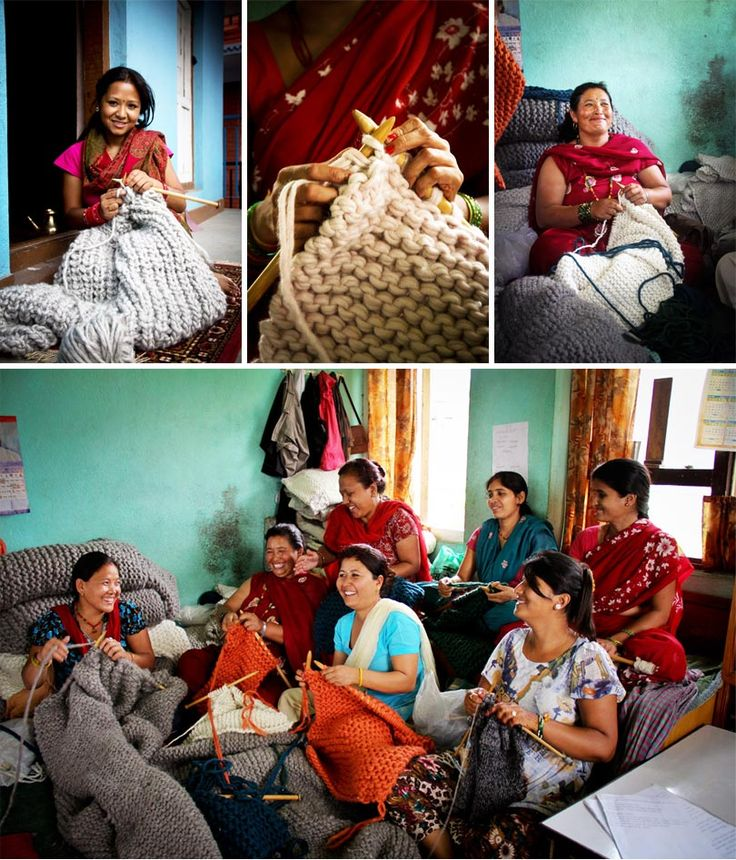 Zilalila, fair trade production, knitted products, hand made, Nepal,