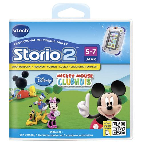 Storio 2 Game Vtech Mickey Mouse Clubhouse