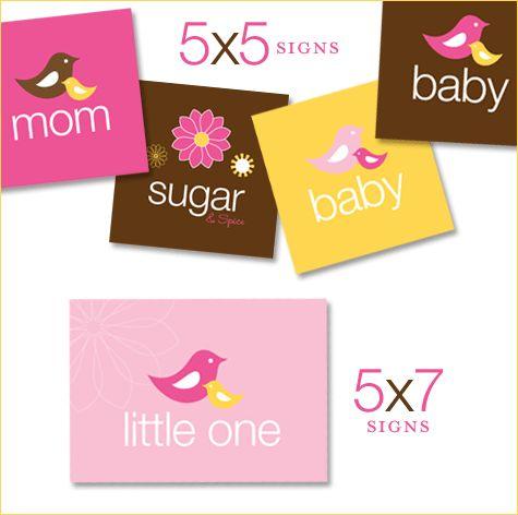free printable - baby shower boy and girl
