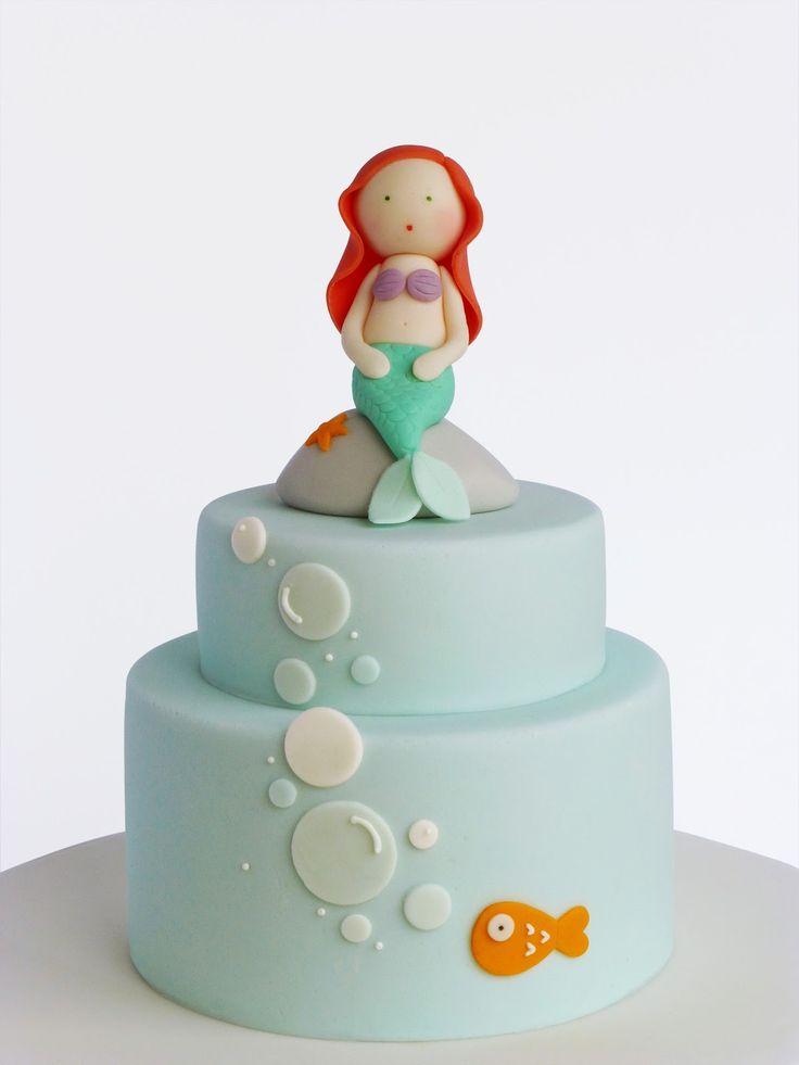 Peaceofcake ♥ Sweet Design: Little Mermaid Cake • Bolo A Pequena Sereia