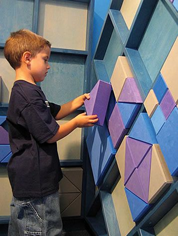 I would LOVE to have a wall like this in the play room!