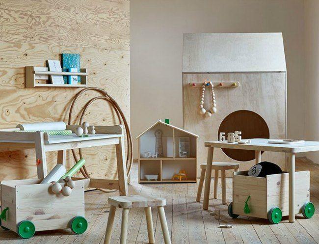 Mobiliario infantil Serie Flisat de Ikea
