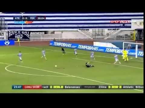 NTV Spor | Atromitos 0 1 Fenerbahçe Geniş Özet - Rıdvan Dilmen'in pozisyon değerlendirmeleri - YouTube
