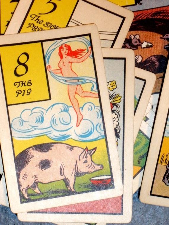 Vintage Fortune Telling Cards
