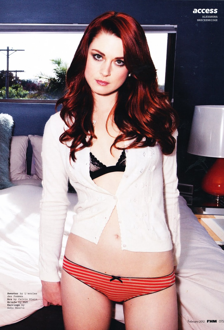 Alexandra Breckenridge as Leah Smith (Dirty Red by Tarryn Fisher)