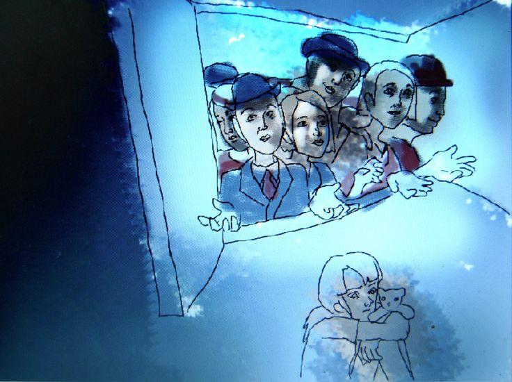 Parafras År 8 - efter Magritte- Month of Grape Harvest