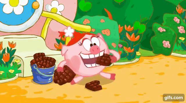 Смешарики 2D : Сладкая жизнь | Мультфильмы про свинку