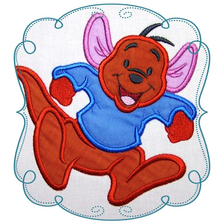 Winnie The Pooh Applique