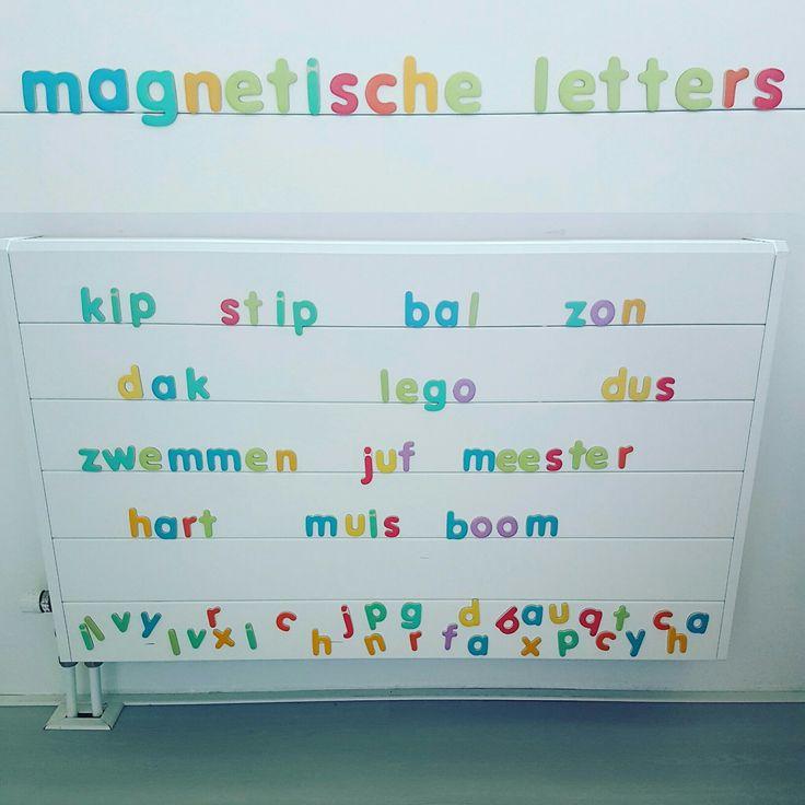 Magnetische letters om te leren lezen #leukmetkids #lerenlezen