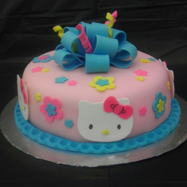 Hello Kitty Fondant Cake Ideas 24076 Hello Kitty Fondant C