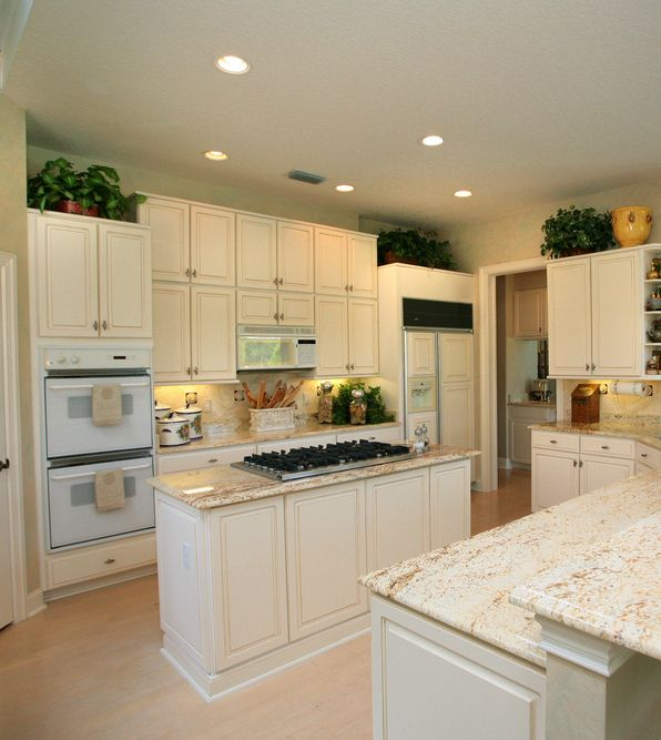Grey Kitchen Cabinets And White Appliances: White Appliances, White Kitchen Cabinets And Kitchen