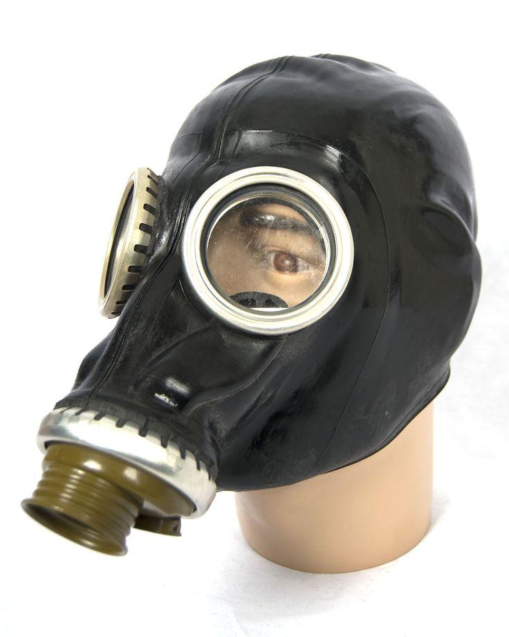 Russian black gasmask GP-5