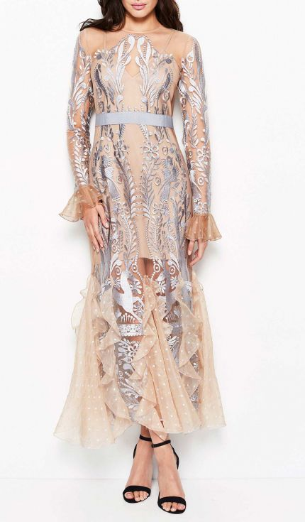 Alice McCALL - Look At Me Gown - Pebble Blue