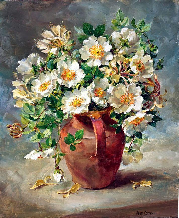 восхитительная картина с цветами произошла, когда десятки