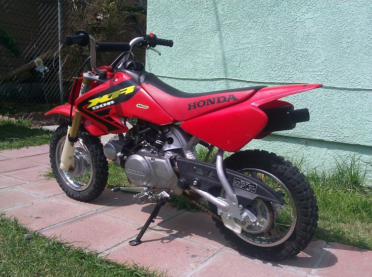 2002 Honda XR50R Dirt Bike