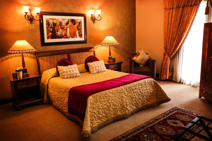 Accommodation in the Golden Suite-perfect for a queen