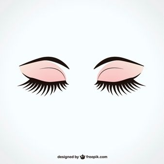 Resultado de imagem para olho fechado desenho moda