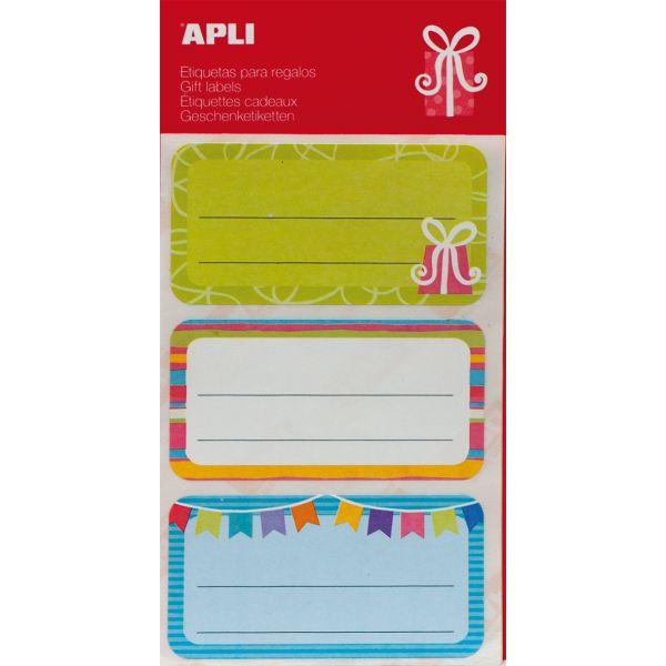 """Comprar 9 Etiquetas Para Marcar Regalos """"Regalo"""" Apli 14001  #regalo #casa #colores #colegio #school #infantil #niños #dibujos #etiquetas"""
