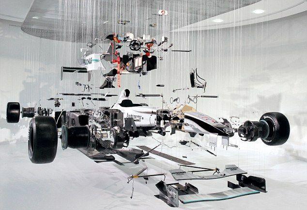 Formule 1 kunst Paul Veroude