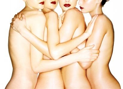 Michael Thompson: Four Nudes, New York City, 1995, Michael Thompson Art Gallery, Michael Thompson Pictures, Michael Thompson Photos - New York City