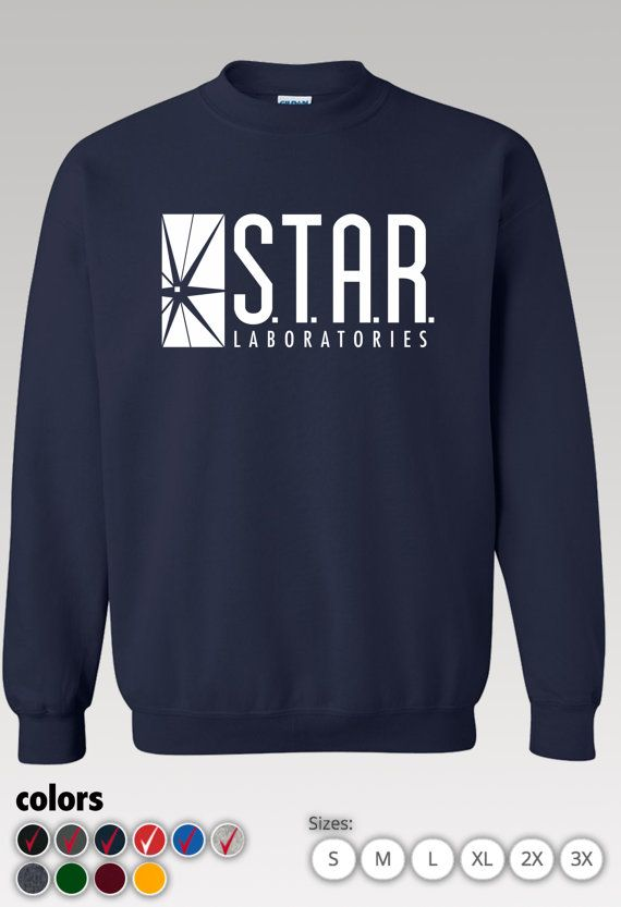 Star Labs Sweatshirt / star labs sweater / Star by TeeShopTees