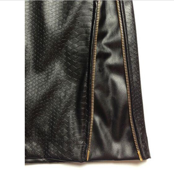 Caliente de la alta calidad PU imitación de cuero nueva primavera pantalones cortos para hombre Hip Hop Pyrex marca corta de hombre cremallera dorado de piel de serpiente negro en Shorts de Moda y Complementos Hombre en AliExpress.com | Alibaba Group